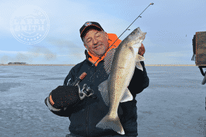 Larry-Smith with a Devils Lake walleye