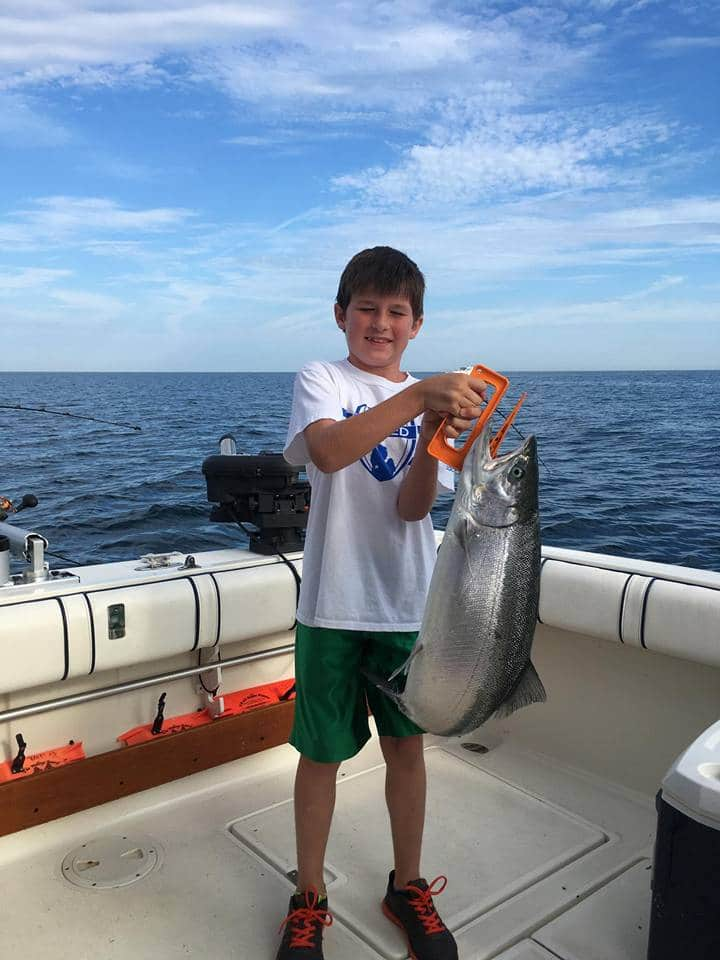 Lake michigan fishing report ron westrate holland for Lake michigan fishing report