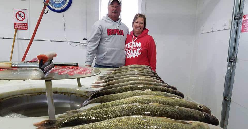 Devils lake nd fishing report pete harsh for North dakota fishing report