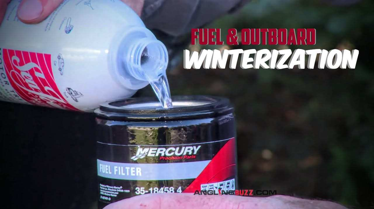 Winterizing Outboard Engines and Fuel