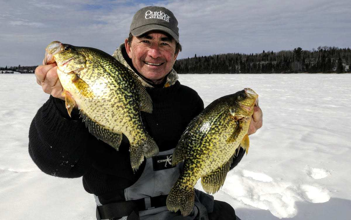 Gord Pyzer Canada Crappies Fishing Line