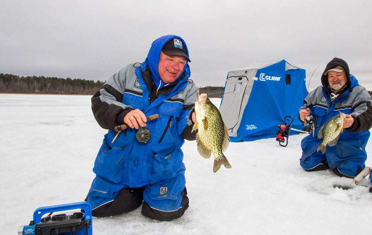 Ask the Pros: What is the Best Line for Panfish Through the Ice?