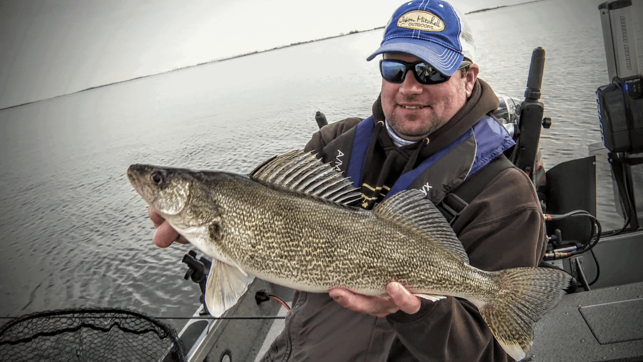 Devils lake nd leech lake mn fishing reports jason for Leech lake fishing report