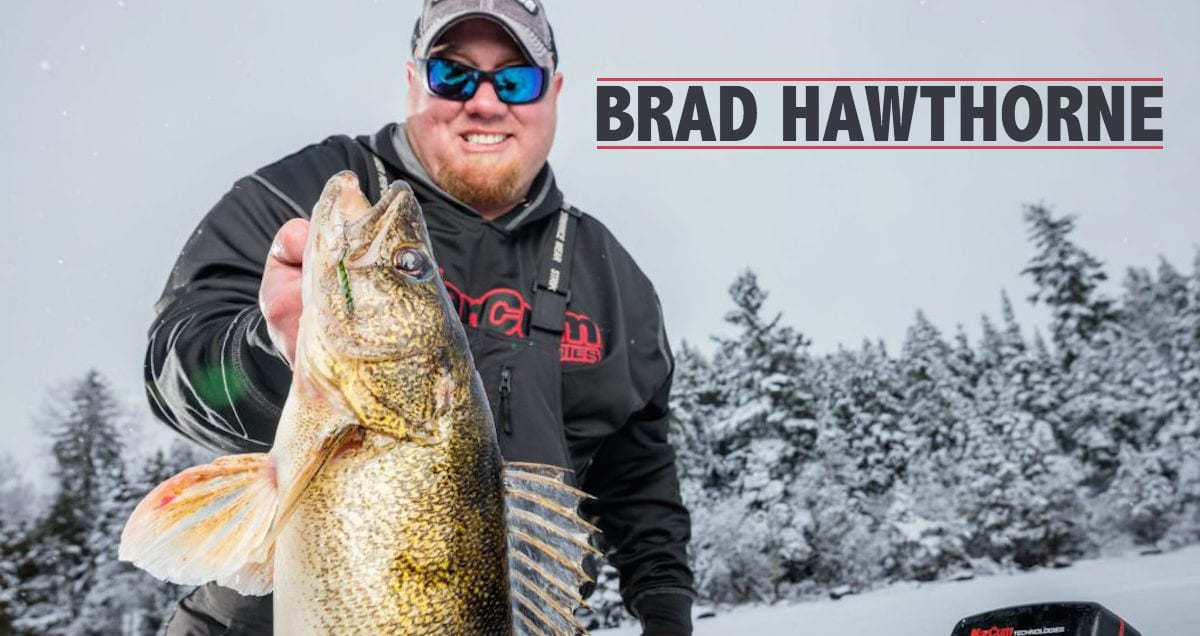 Brad Hawthorne Ice Fishing