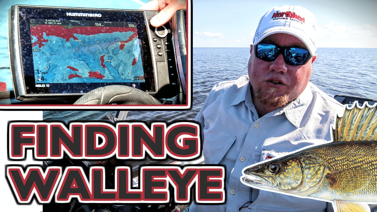 Finding Walleyes - New Lake