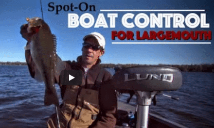 Spot-on Boat Control for Fall Largemouths