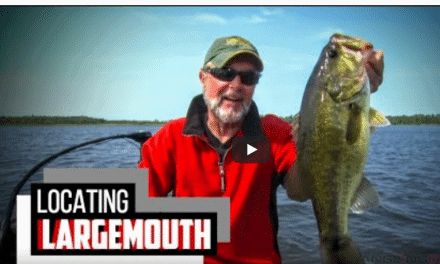 Electronics Locate and Help Catch Largemouth Bass