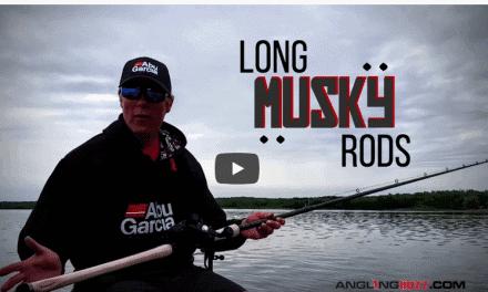Longer Rods Enhance Musky Fishing Efficiency