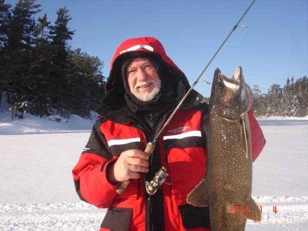 Lake Trout at First Ice