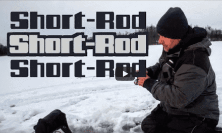 Short-Rod Tips for Panfish Through the Ice