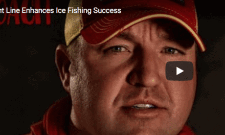 Light Line Enhances Ice Fishing Success
