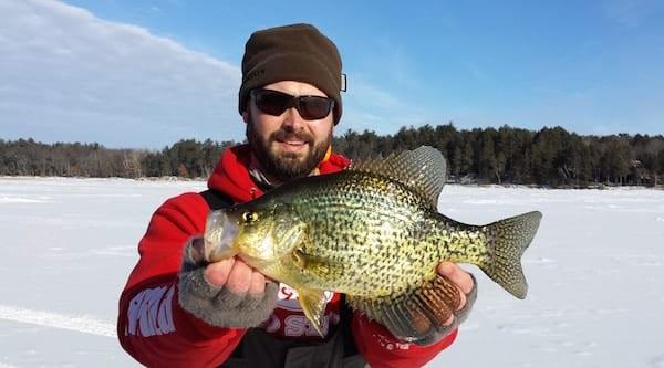 Jeremy Smith Late Ice Panfish