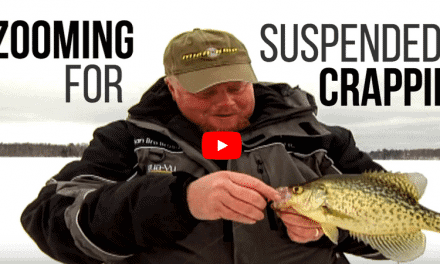 Zoom in on Suspended Crappies for Midwinter Success