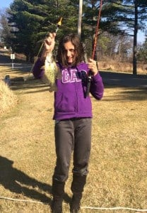 Young Girl with Crappie
