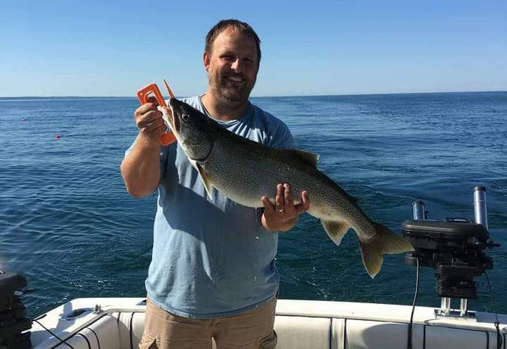 Michigan Buzz Bite Report – Ron Westrate (Lake Michigan – Holland/Saugatuck)
