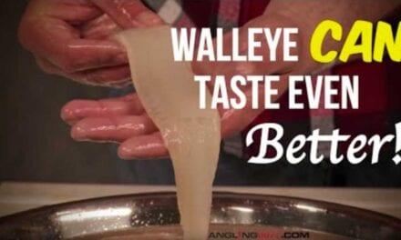Make Walleyes Taste Better