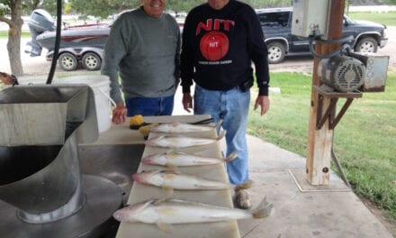 Oahe / Sharpe / Chamberlain (SD) Fishing Report – Kent Hutcheson