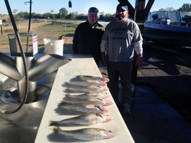 Lake Sharpe & Oahe (SD) Fishing Report – Kent Hutcheson