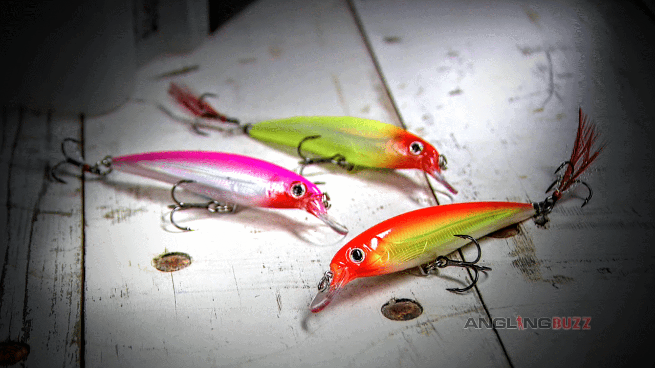 BRIGHT Jerkbaits, Feathered Treble