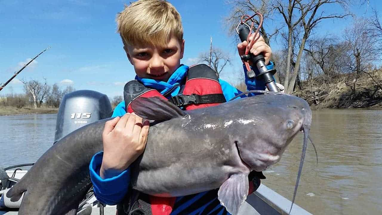 Red River (ND) Catfishing Report – Brad Durick
