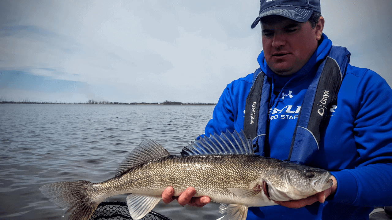 Devils Lake (ND) Fishing Report – Jason Mitchell
