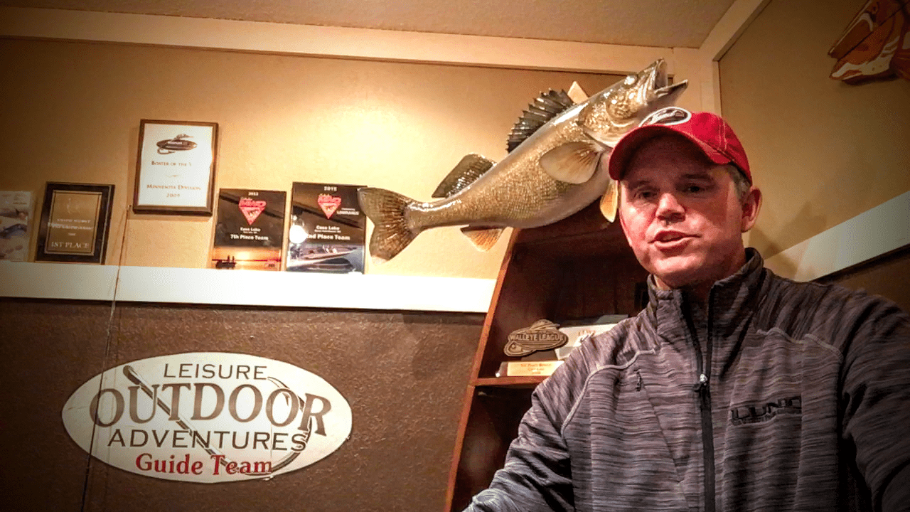 Leech Lake (MN) Fishing Report – Toby Kvalevog