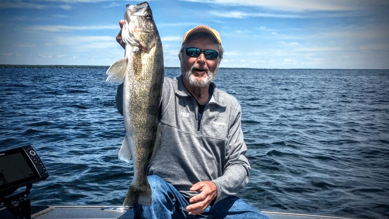 Minnesota Walleye Fishing Report – Al Lindner