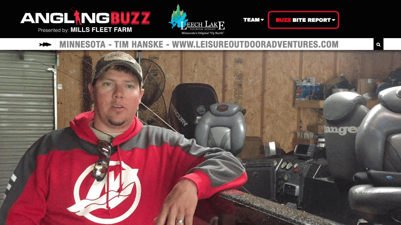 Leech Lake (MN) Fishing Report – Tim Hanske