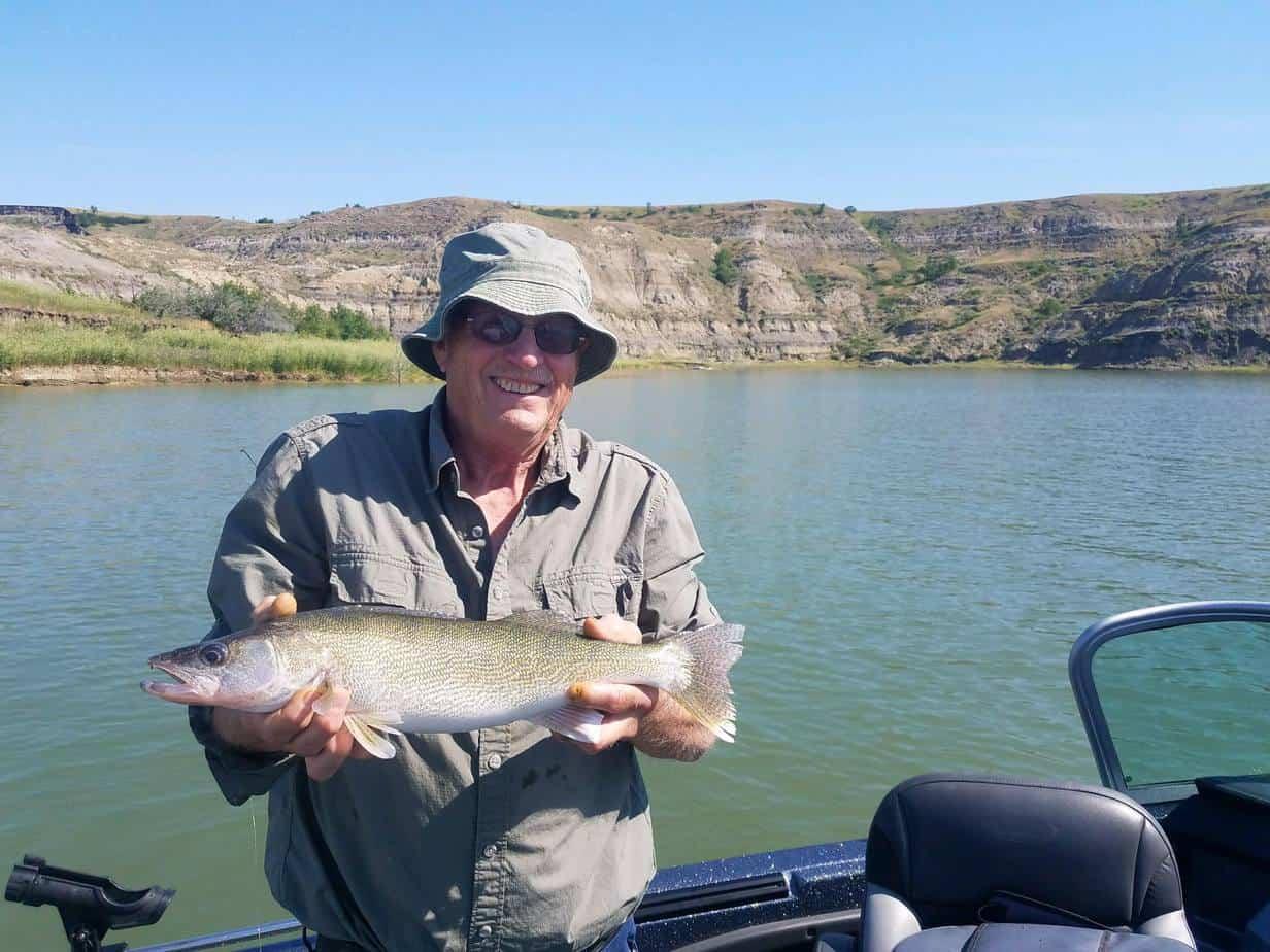 Lake Sakakawea (ND) Fishing Report – Matt Liebel