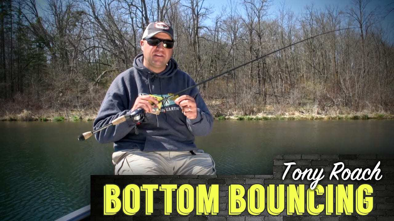 Bottom Bouncer Walleyes with Tony Roach