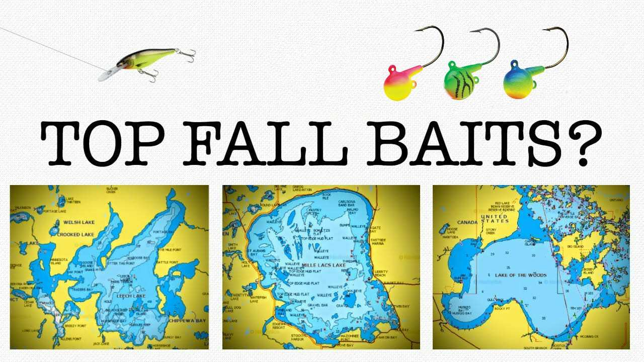 2 Killer Walleye Baits for Fall Fishing — LOTW, Leech Lake & Mille Lacs