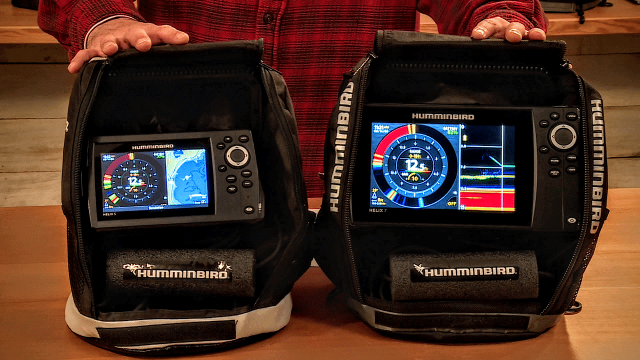 New 2018 Must-Have Flasher Combo Units – Humminbird Ice Helix G2