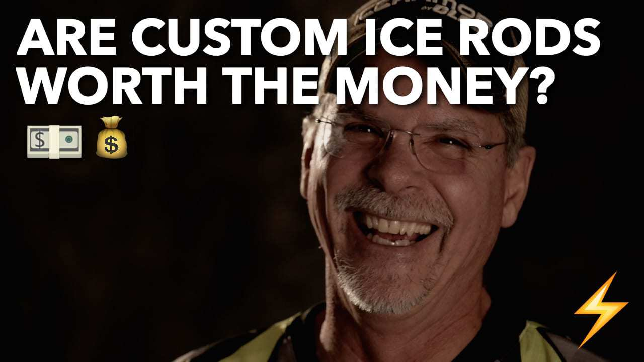 Are Custom Ice Rods Worth the $$ — Ice Pros