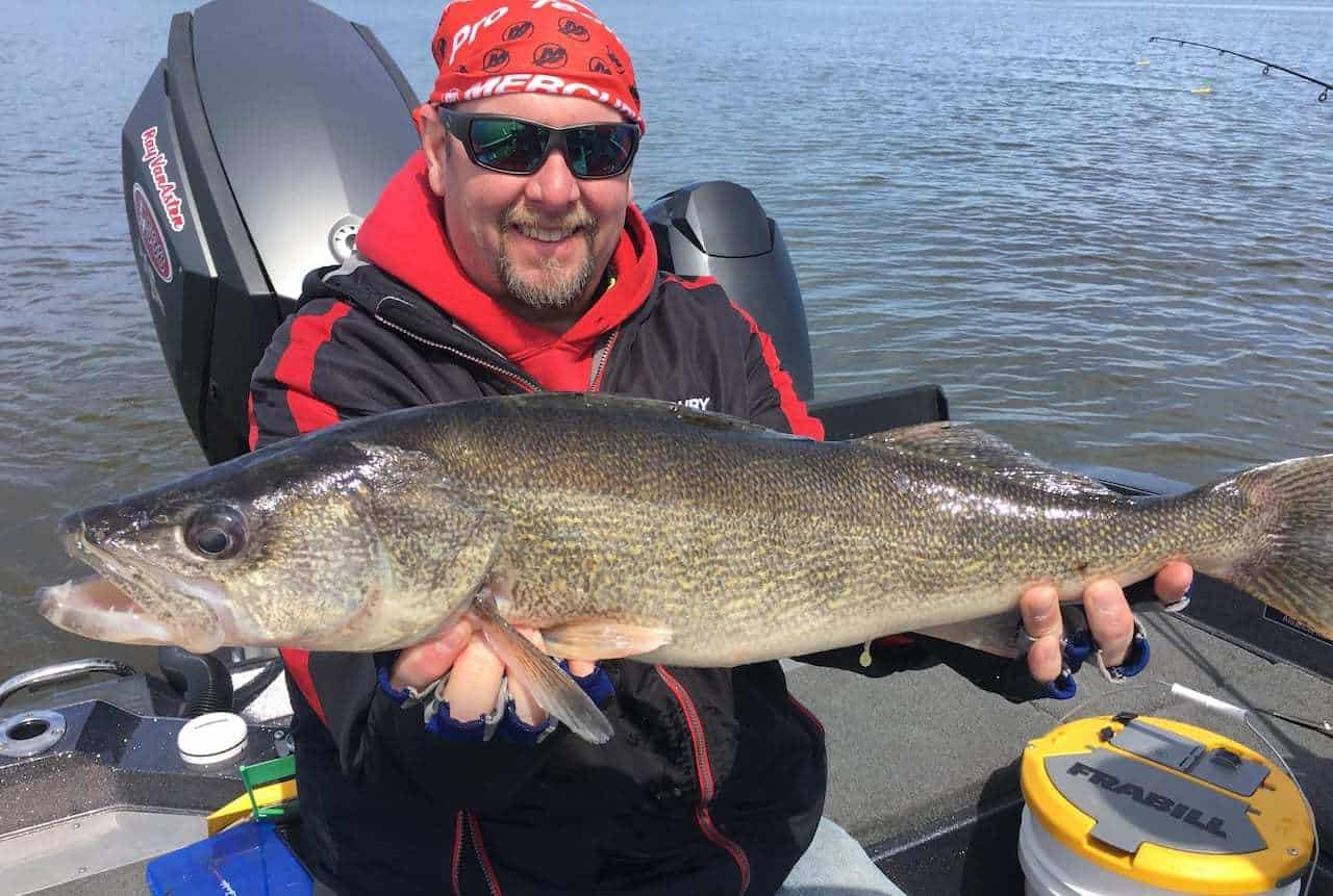 Lake Winnebago, Fox & Wolf River (WI) Fishing Report – Mark Schram