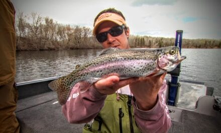 Mine Pit Lakes Provide Excellent Stocked Trout Fishing