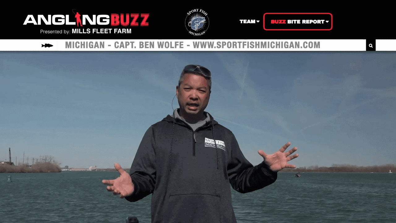 Detroit River (MI) Fishing Report – Capt. Ben Wolfe