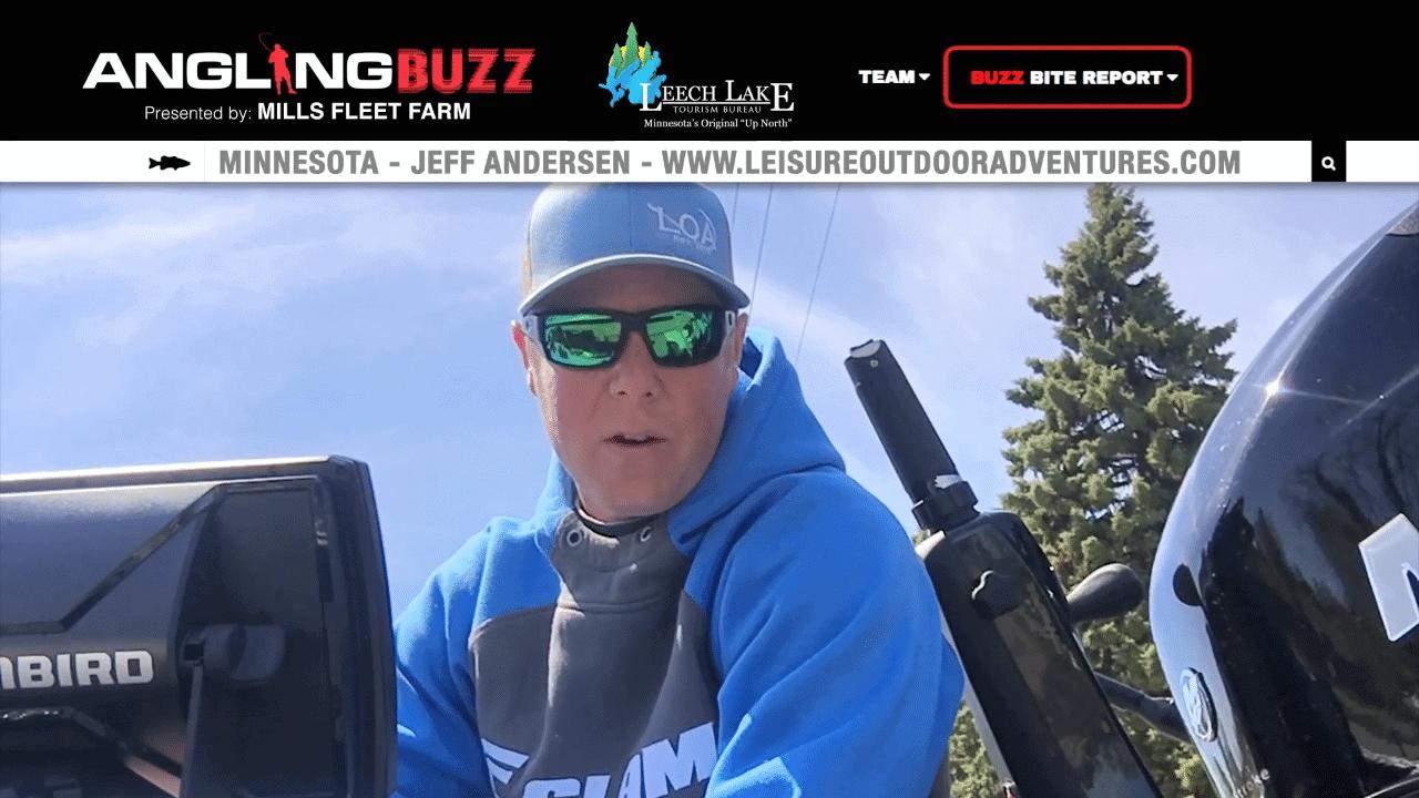Leech Lake (MN) Fishing Report – Jeff Andersen