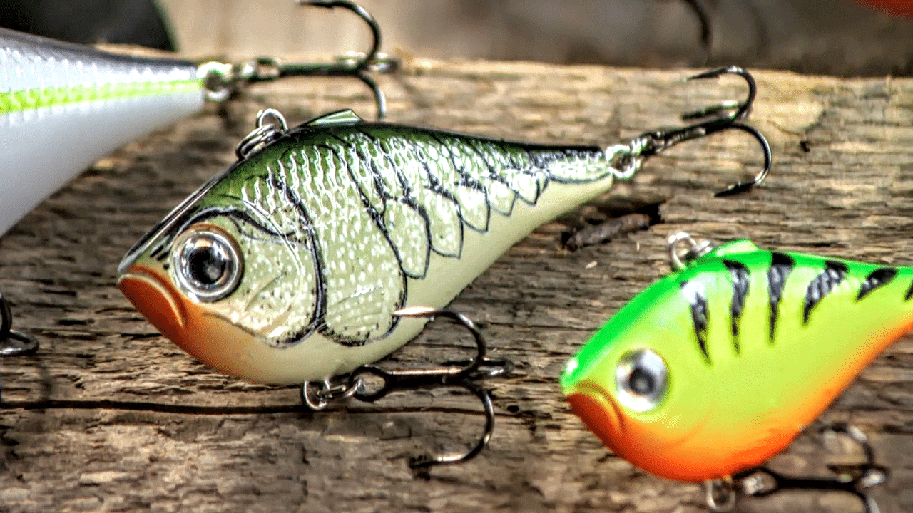 Proven Lipless Crankbaits FOR WALLEYE