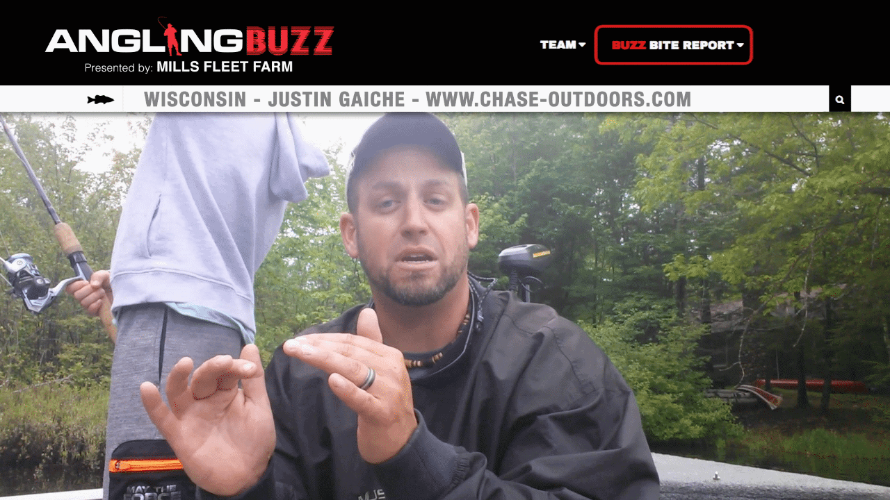 North Central Wisconsin Fishing Report – Justin Gaiche