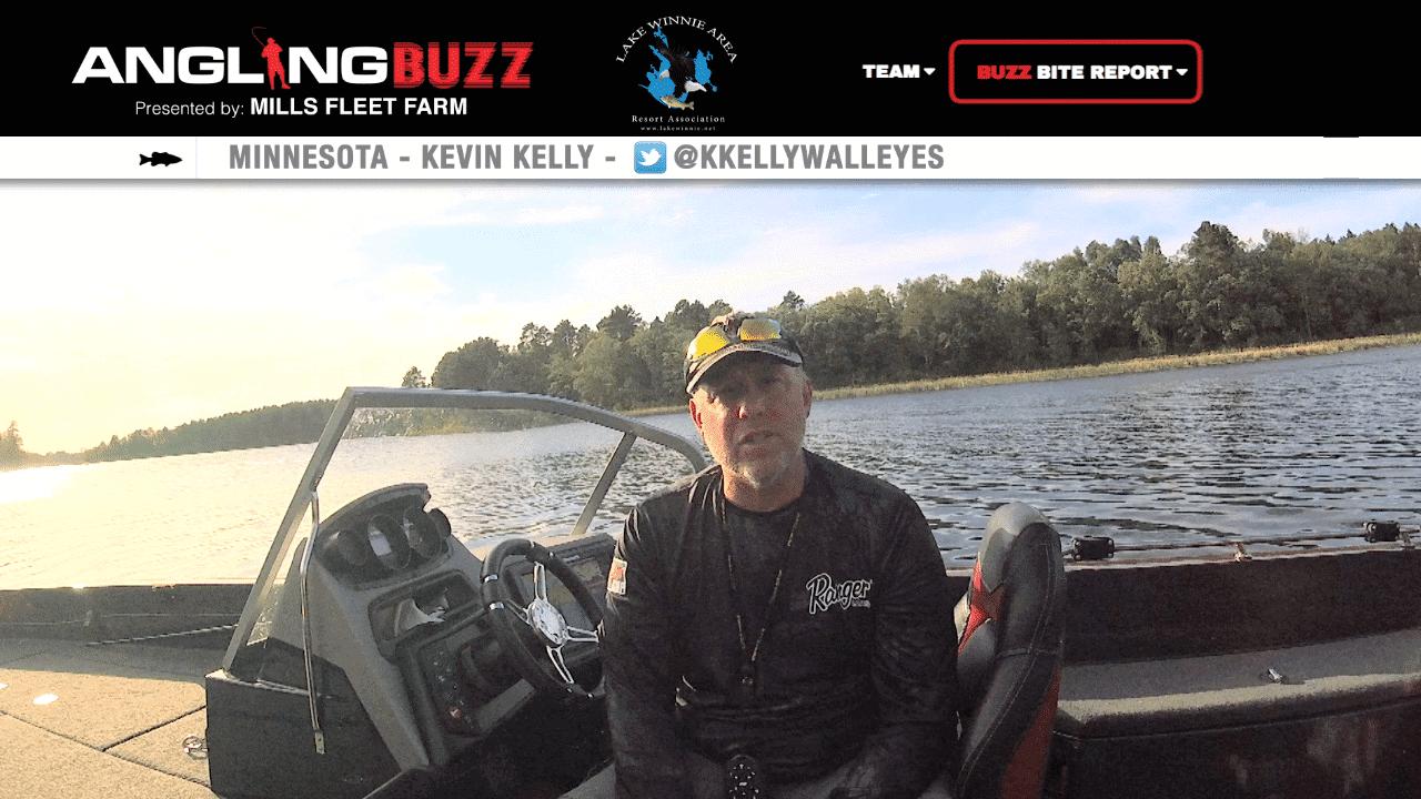 Lake Winnibigoshish (MN) Walleye Report – Kevin Kelly