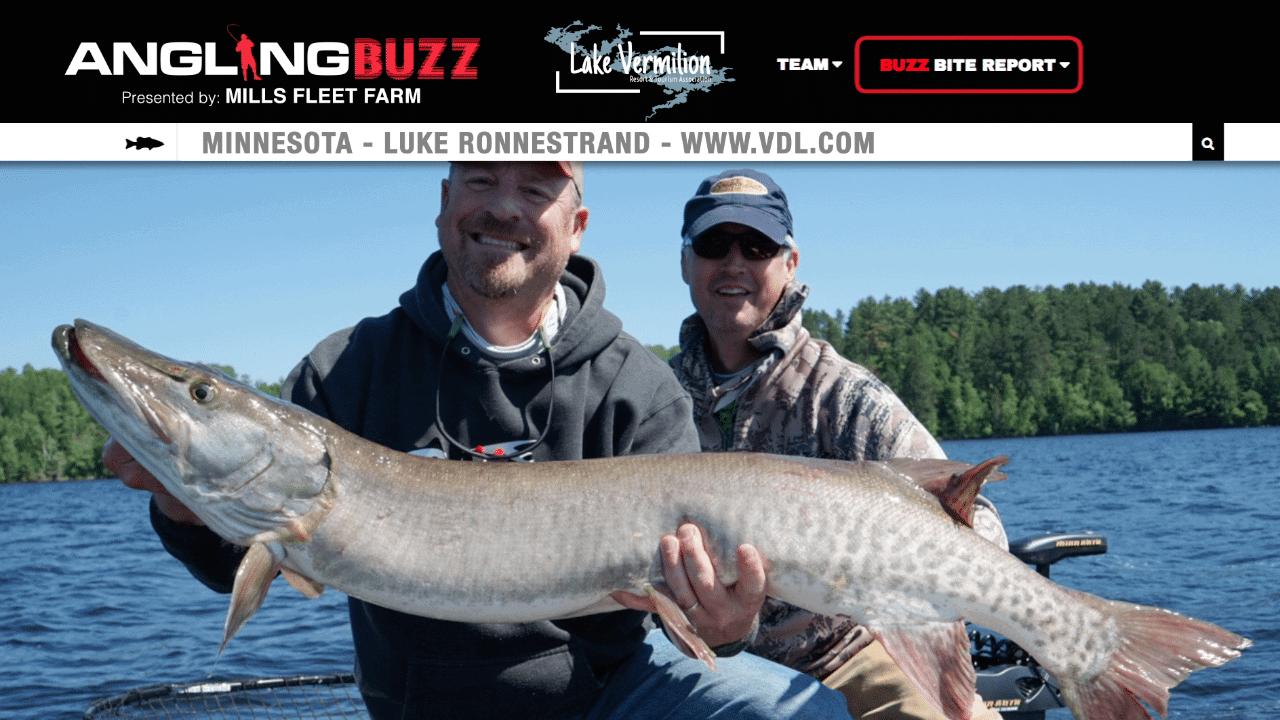 Lake Vermilion (MN) Musky Report – Luke Ronnestrand
