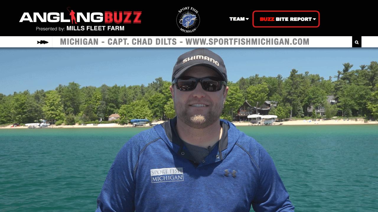 Michigan Fishing Report – Capt. Chad Dilts
