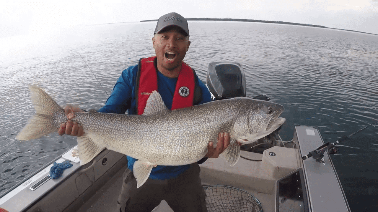 Trophy Lake Trout Fishing on Clearwater Lake – Manitoba Hot Bite