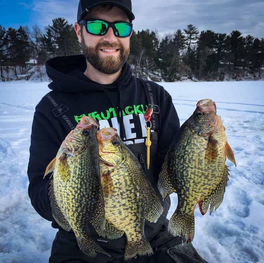 Ice Fishing Basin Crappie