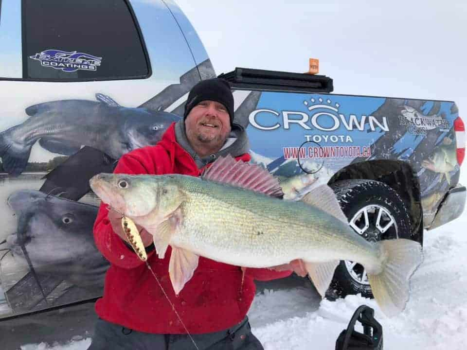 Lake Winnipeg (MB) Fishing Report – Donovan Pearase