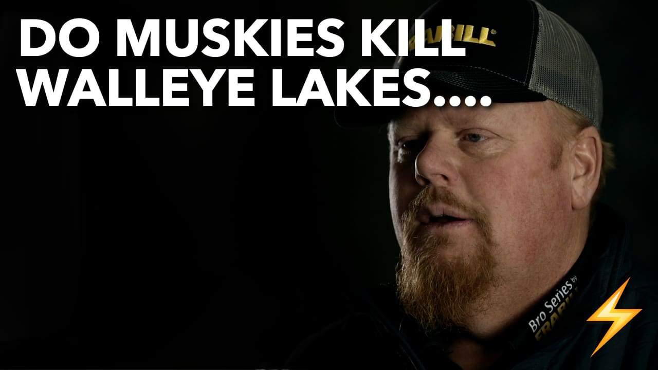 Do Muskies KILL Walleye Lakes? — Ice Pros Q&A