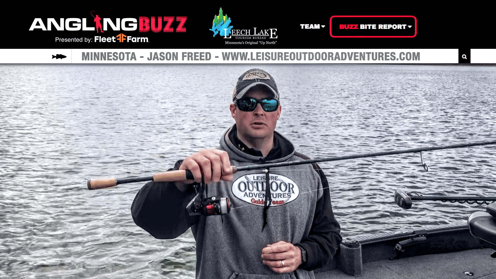 Leech Lake (MN) Fishing Report