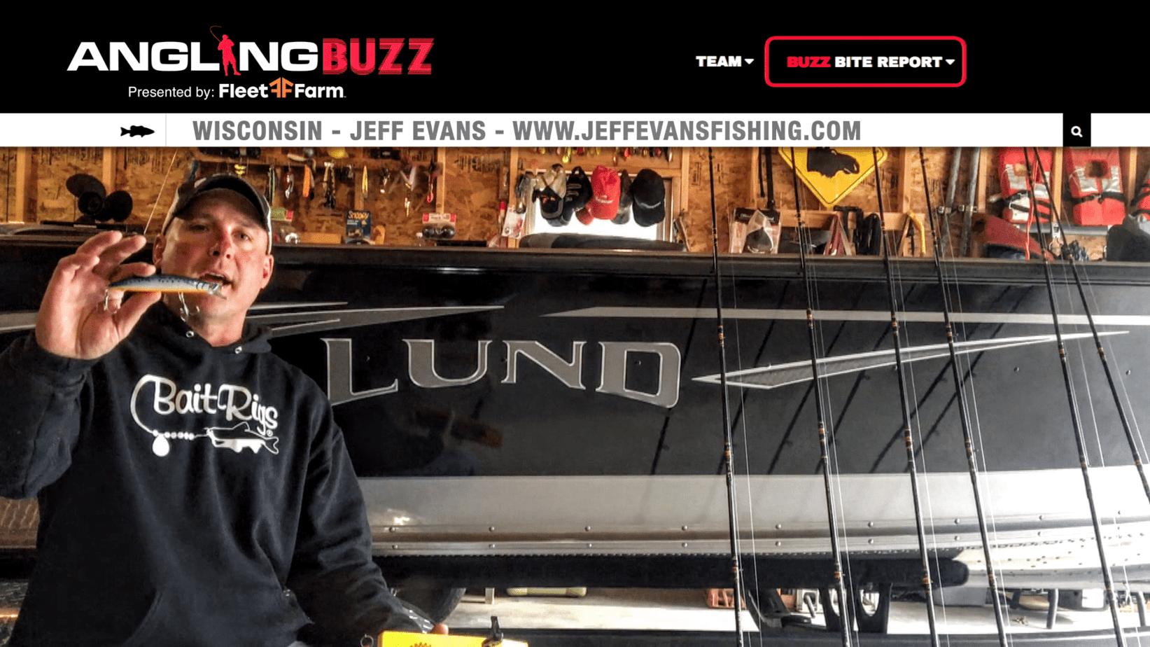 Hayward (WI) Fishing Report – Jeff Evans (VIDEO)