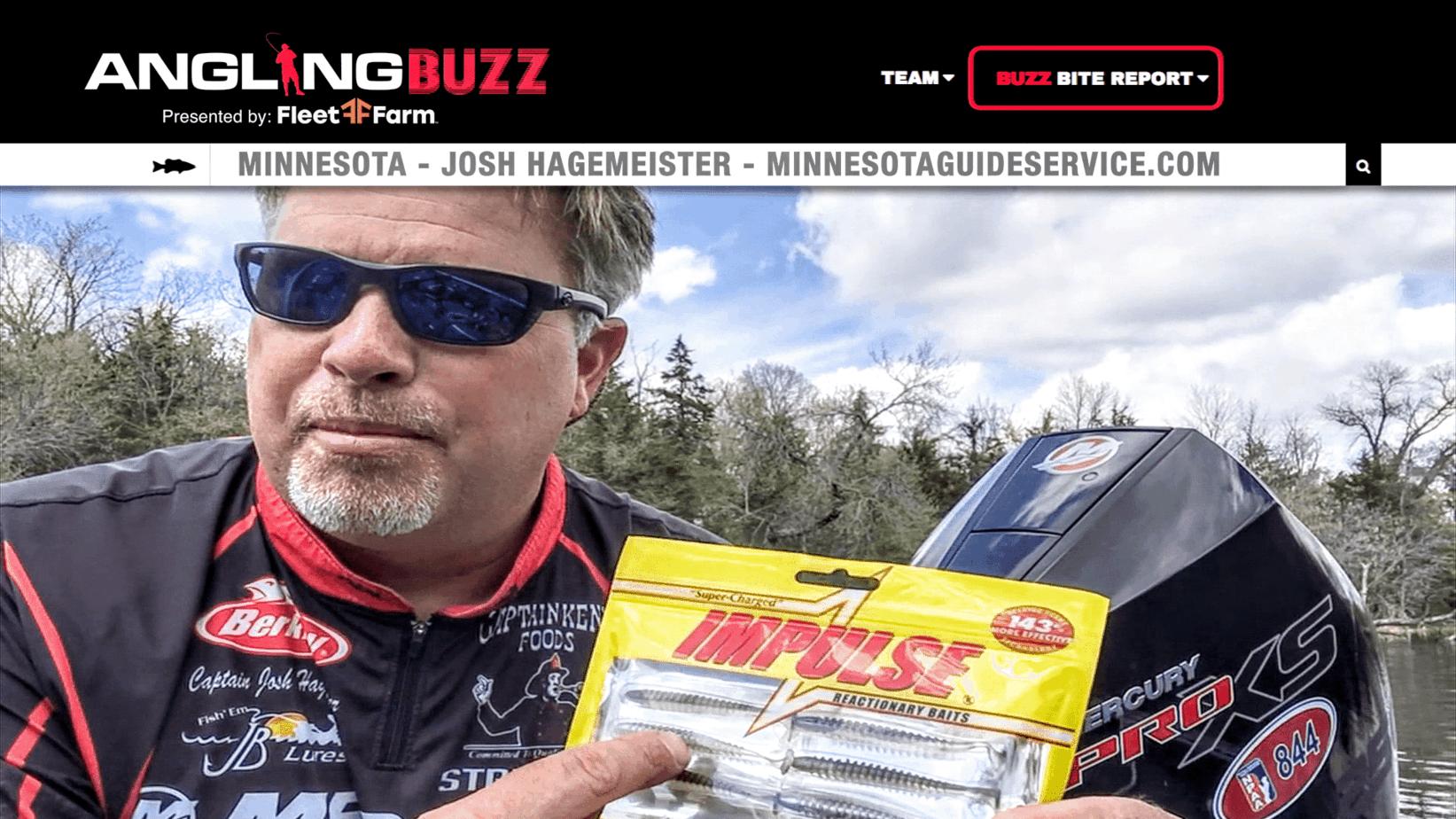 Central Minnesota Walleye Report – Josh Hagemeister