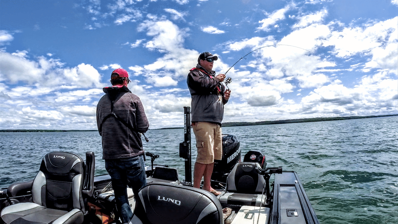Shallow Water Walleye Tips